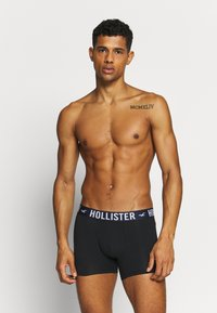 Hollister Co. - SOLID 5 PACK - Underkläder - black
