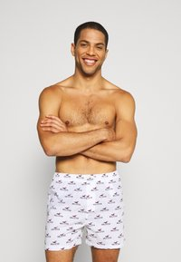 Hollister Co. - PATTERN 3 PACK - Boxershort - red/white/navy - 3