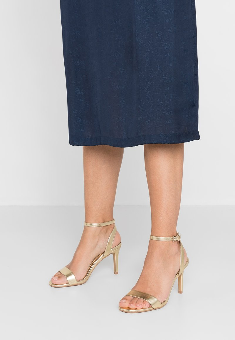 Head over Heels by Dune - MILANIA - High heeled sandals - gold