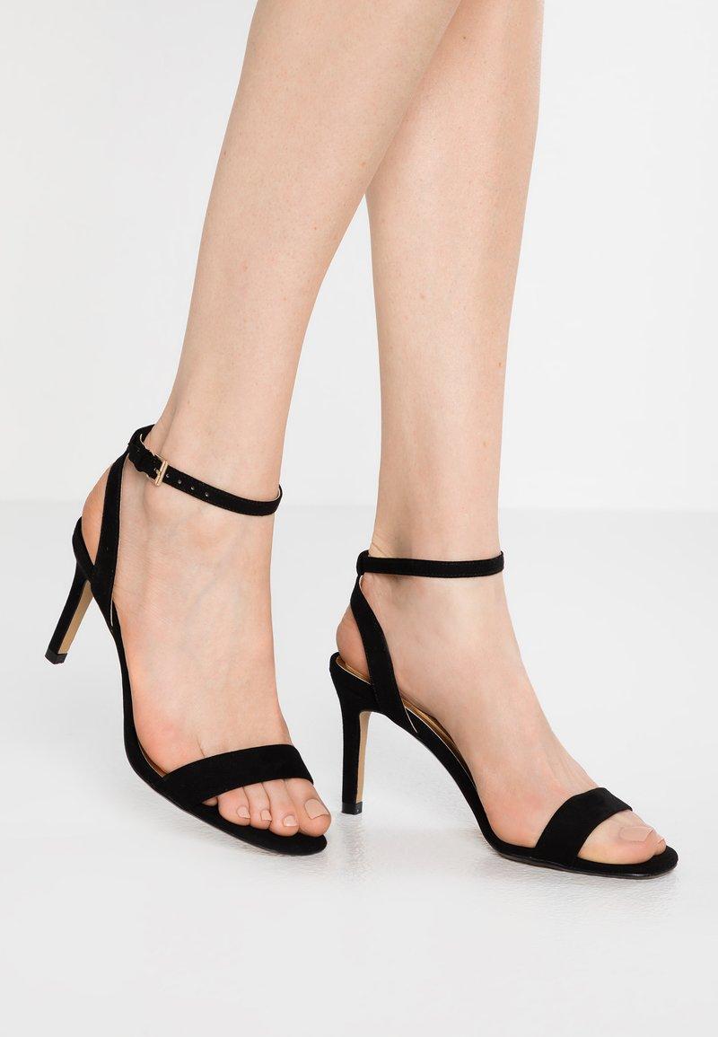 Head over Heels by Dune - MILANIA - Sandalias de tacón - black