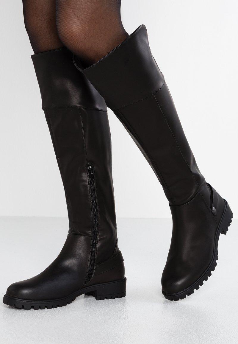 Head over Heels by Dune - TRINNI - Overknees - black