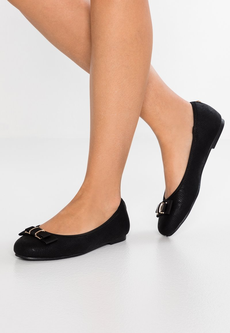 Head over Heels by Dune - HAYLEIGH - Ballet pumps - black