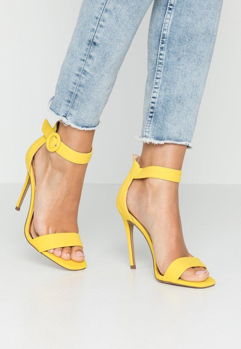 Head over Heels by Dune - MALAY - High heeled sandals - yellow