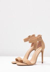 Head over Heels by Dune - MALAY - Sandaler med høye hæler - nude - 4