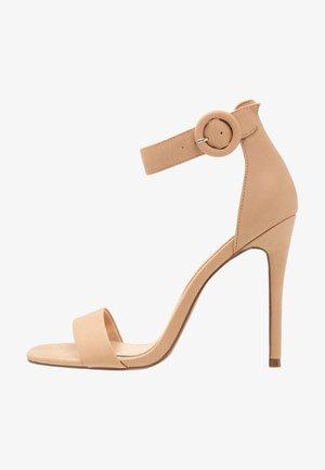 MALAY - High Heel Sandalette - nude