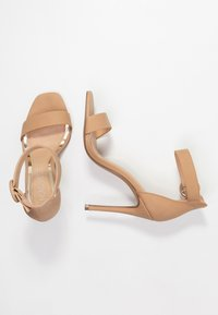 Head over Heels by Dune - MALAY - Sandaler med høye hæler - nude - 3