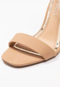 Head over Heels by Dune - MALAY - Sandaler med høye hæler - nude - 2