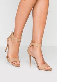 Head over Heels by Dune - MALAY - Sandaler med høye hæler - nude - 0