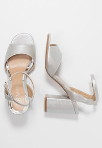 Head over Heels by Dune - MARIAAH - Sandali con tacco - silver - 3