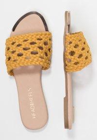 Head over Heels by Dune - LEEO - Matalakantaiset pistokkaat - yellow - 3