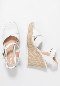 Head over Heels by Dune - KATYAA - Sandály na vysokém podpatku - white - 3