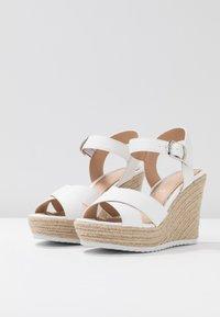 Head over Heels by Dune - KATYAA - Sandály na vysokém podpatku - white - 4