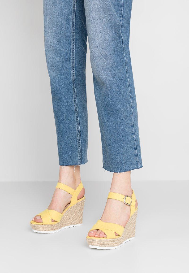 Head over Heels by Dune - KATYAA - High heeled sandals - yellow