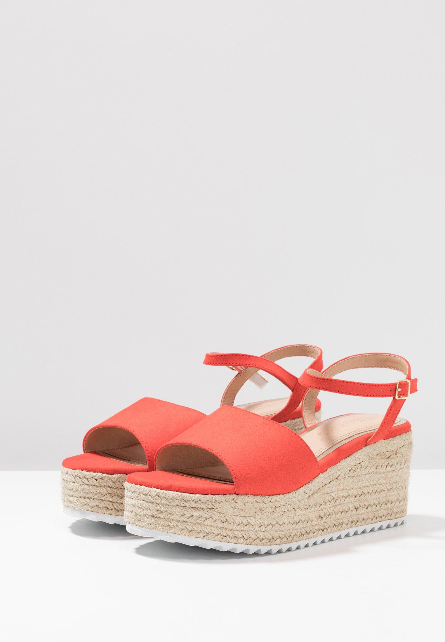Head Over Heels By Dune Kendon - Sandales À Plateforme Red