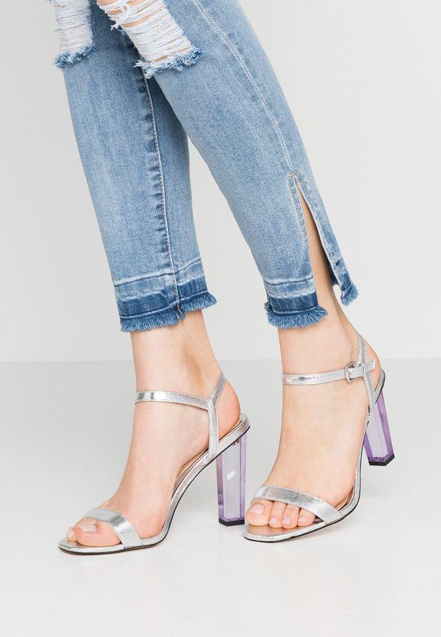 MIMII - Højhælede sandaletter / Højhælede sandaler - silver