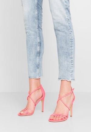 MIMO - Sandaler med høye hæler - pink