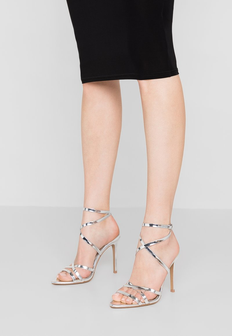 Head over Heels by Dune - MAYYE - High heeled sandals - silver