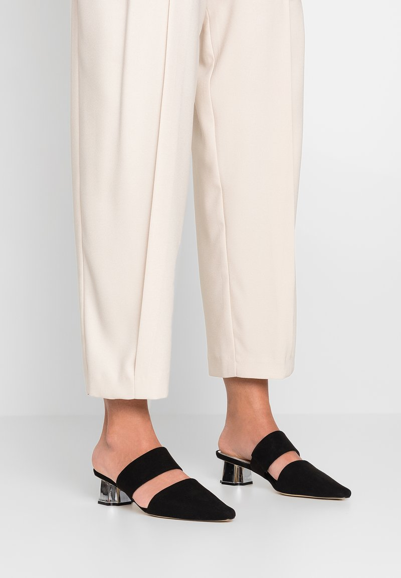 Head over Heels by Dune - CIARA - Pantolette hoch - black