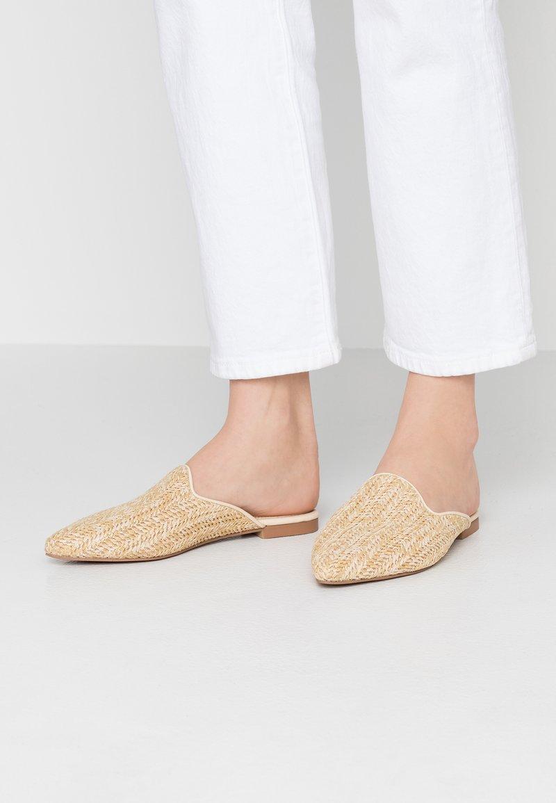 Head over Heels by Dune - HARRLOW - Mules - natural