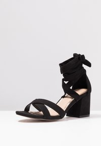 Head over Heels by Dune - MAYBE - Sandály - black - 4