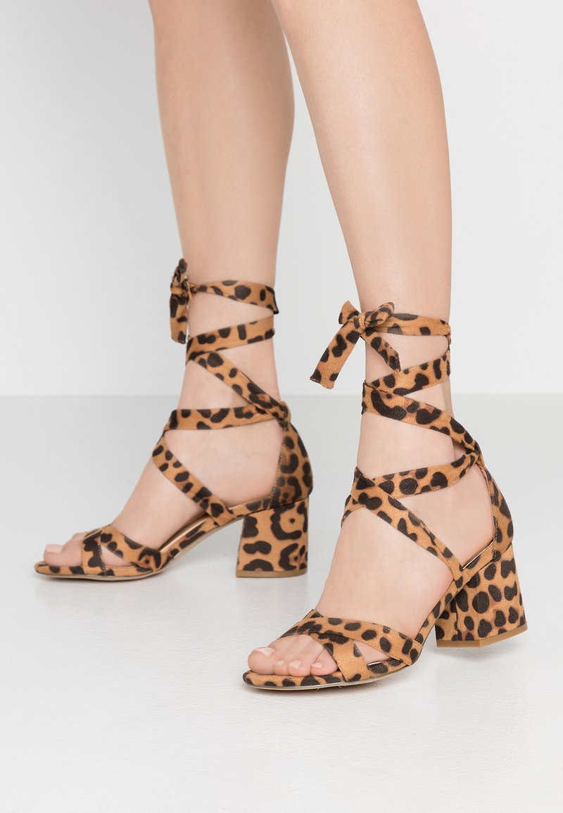 Head over Heels by Dune - MAYBE - Sandals - black