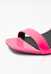 Head over Heels by Dune - MOL - Sandály na vysokém podpatku - pink - 2