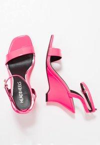 Head over Heels by Dune - MOL - Sandály na vysokém podpatku - pink - 3