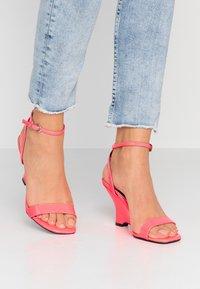 Head over Heels by Dune - MOL - Sandály na vysokém podpatku - pink - 0