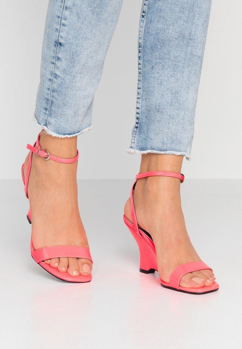 Head over Heels by Dune - MOL - Sandály na vysokém podpatku - pink
