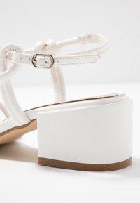 Head over Heels by Dune - JIJI - Sandaler - white - 2