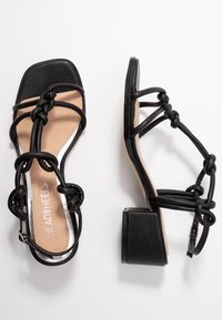 Head over Heels by Dune - JIJI - Sandalen - black - 3
