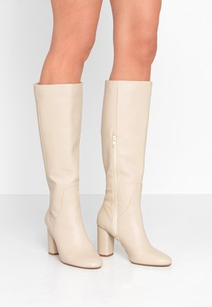 SHYANA - High heeled boots - offwhite