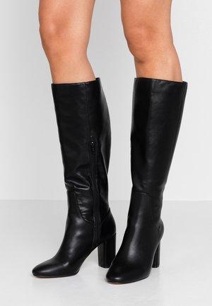 SHYANA - Laarzen met hoge hak - black