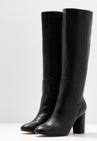 Head over Heels by Dune - SHYANA - Botas de tacón - black - 4