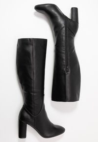 Head over Heels by Dune - SHYANA - Boots med høye hæler - black - 3