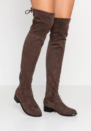 TARAA - Stivali sopra il ginocchio - grey