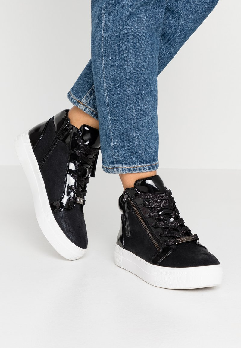 Head over Heels by Dune - EMERITA - High-top trainers - black