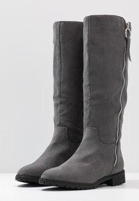 Head over Heels by Dune - TABEA - Vysoká obuv - grey - 4