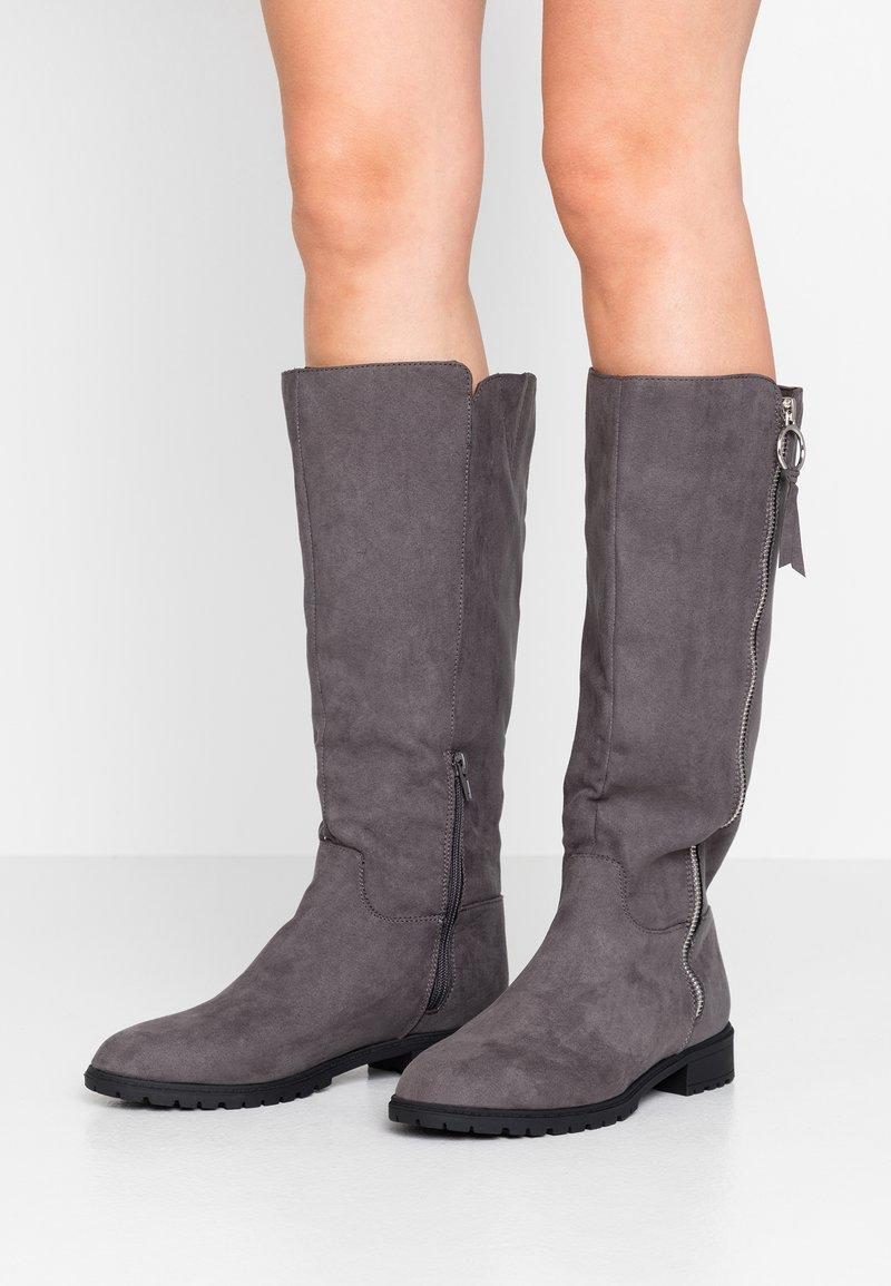 Head over Heels by Dune - TABEA - Vysoká obuv - grey