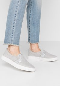 Head over Heels by Dune - EVEY - Slip-ons - silver - 0
