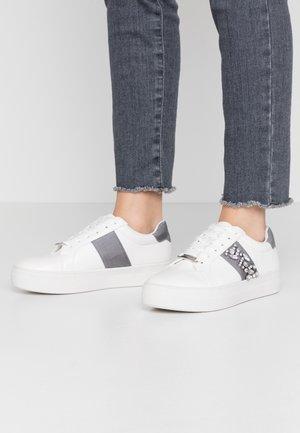 EDIITH - Sneakers - grey plain