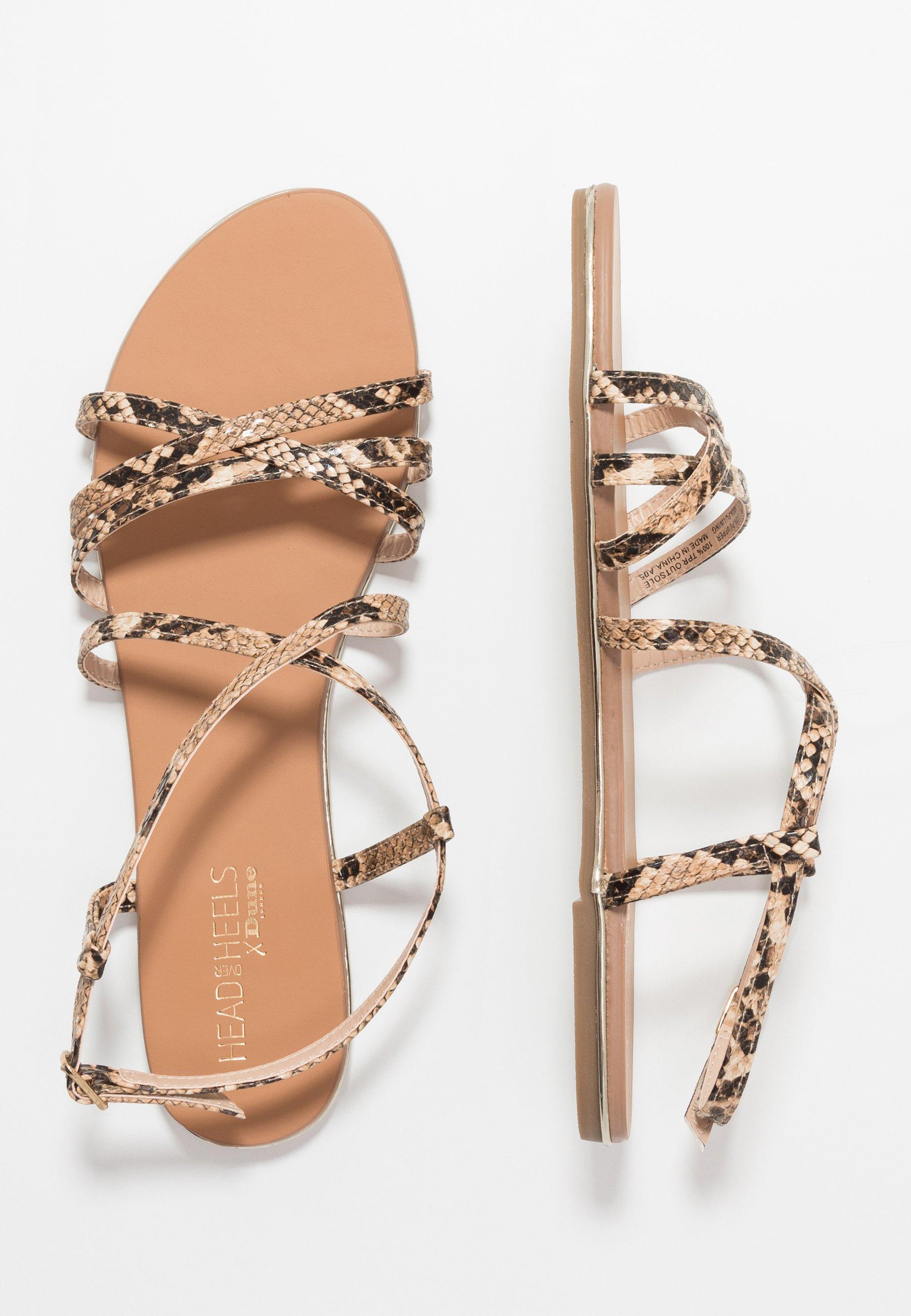 Head over Heels by Dune LIYA - Sandaler - natural