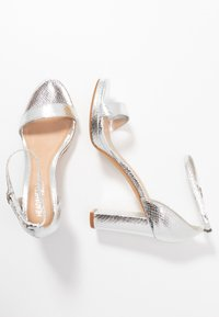 Head over Heels by Dune - MADINA - Sandalias de tacón - silver - 3