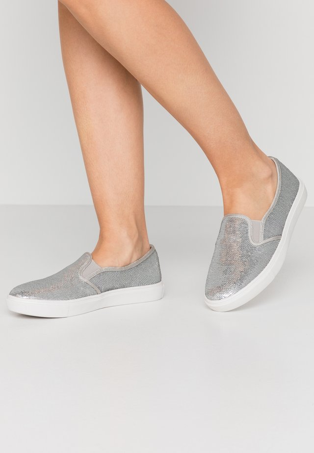 ESTHER - Slip-ons - silver