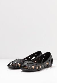 Head over Heels by Dune - HARLO - Peeptoe ballerina's - black - 2