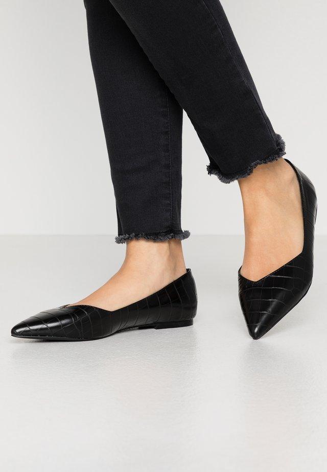 HAILIIE - Ballerinaskor - black
