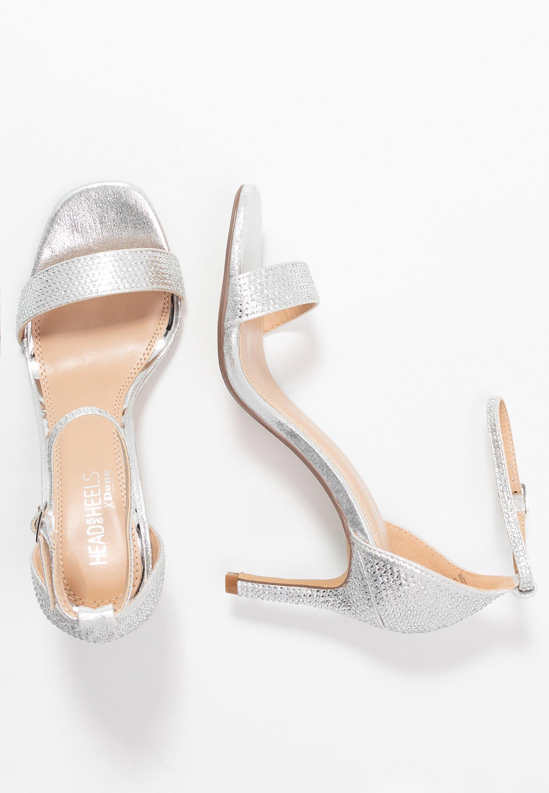 Head over Heels by Dune MADDI - Sandales à talons hauts - silver