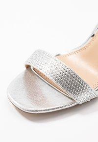 Head over Heels by Dune - MADDI - Sandaler med høye hæler - silver - 2