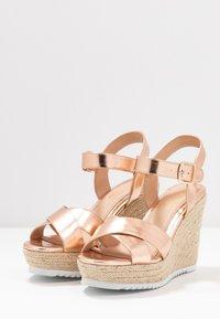 Head over Heels by Dune - KATYAA - Sandály na vysokém podpatku - rose gold metallic - 4