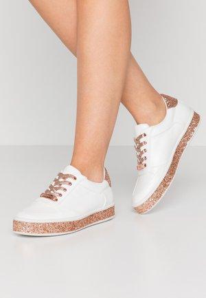 ELAIINE - Matalavartiset tennarit - white